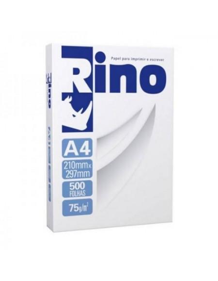 Papel A4 Branco 75g/m² Pacote com 500 Folhas - Rino