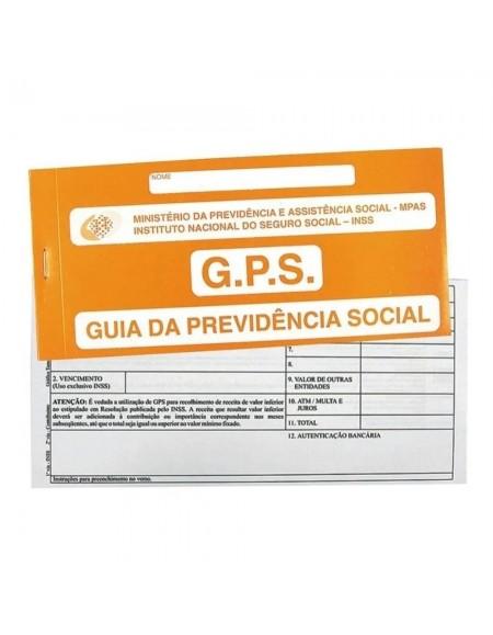 Carne GPS São Domingos Para Pagamento do INSS 12X2 180X110 PCT C/10