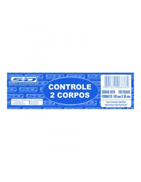 Bloco Controle 2 Corpos 100FLS São Domingos PCT C/20
