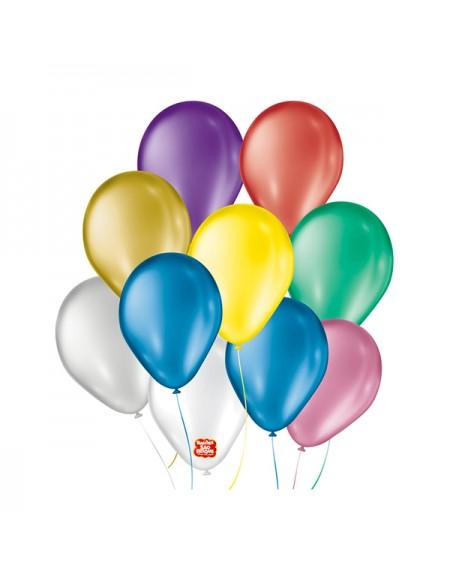 Balão São Roque Cintilante N.7 Pct 50 UN