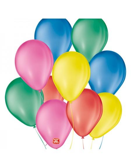 Balão São Roque Liso numero 7 Pct c/50 Balões