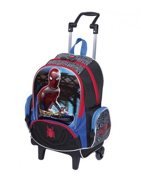 Mochilete Sestini Grande 3D Spiderman