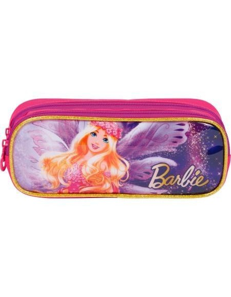 Estojo Sestini Barbie Dreamtopia 2 Compartimentos