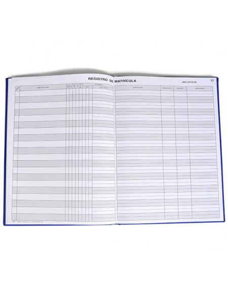 Livro Registro De MaTrícula Tamoios
