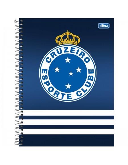 Caderno Tilibra Cruzeiro Universitário Arame 1x1 Capa Dura 80fls