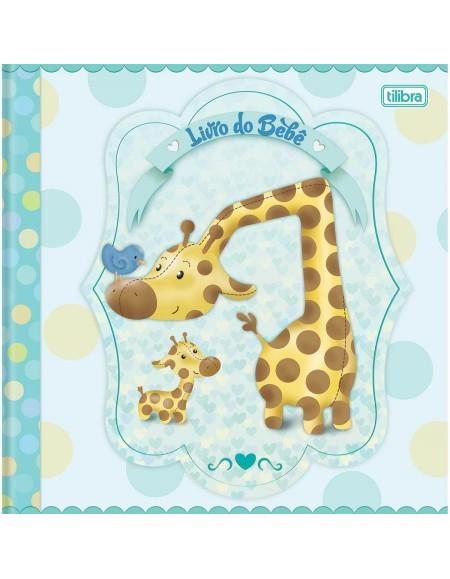 Livro Tilibra do Bebê Masculino Brochurão 34Fls 220mmx220mm